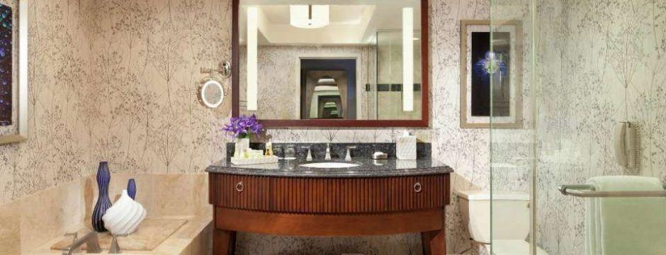 Bellagio Resort King Room Bathroom