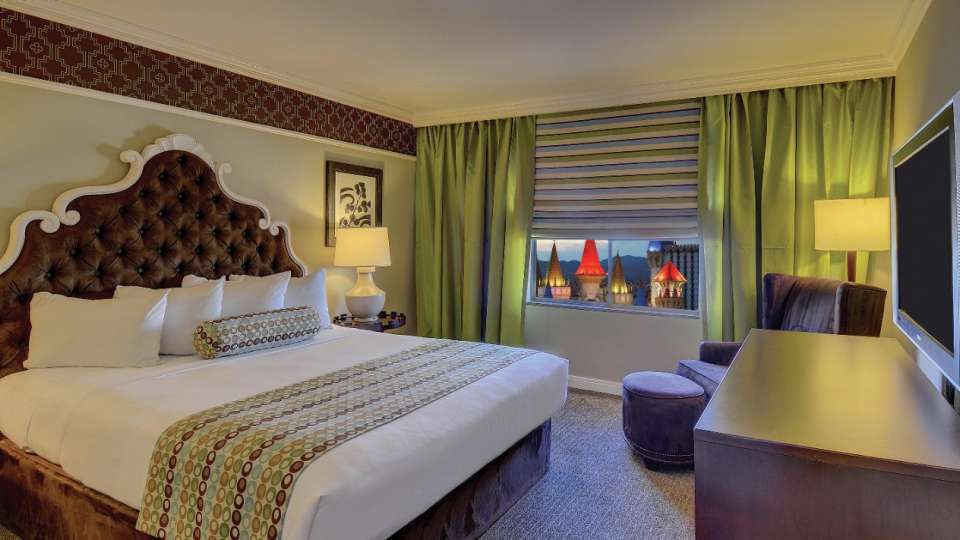 Excalibur Las Vegas Resort Luxury Suite 2 Bedroom