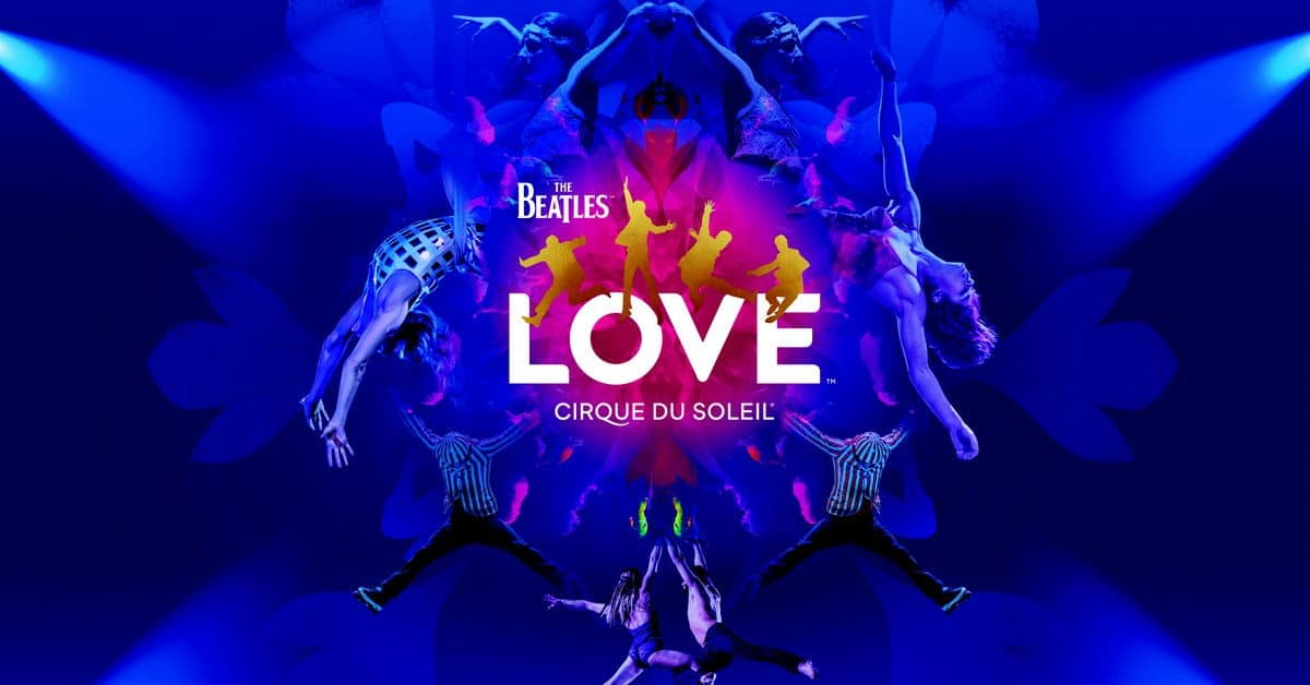 the beatles love by cirque du soleil discount tickets. Black Bedroom Furniture Sets. Home Design Ideas