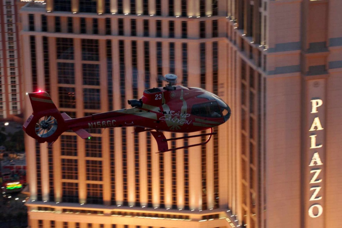 Grand Canyon Celebration Helicopter Sunset Tour With Las Vegas Strip