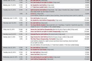 wsop 2015 schedule 2-4