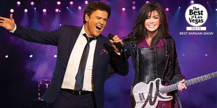 donny and marie show las vegas