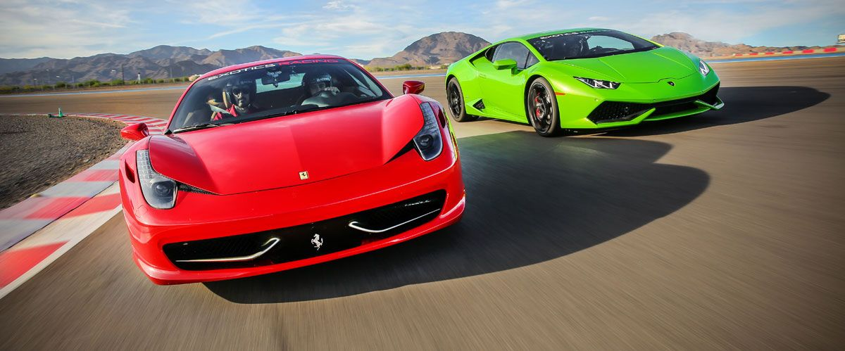 Exotics Racing Vegas Attractions Discounts Lasvegasjaunt Com