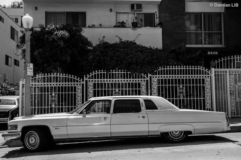 Vintage Car in Los Angeles