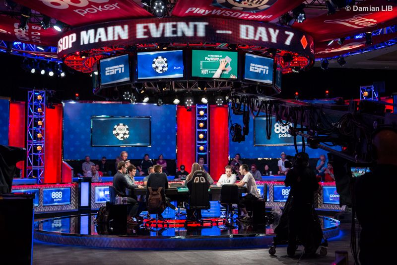 WSOP 2016 Final Table