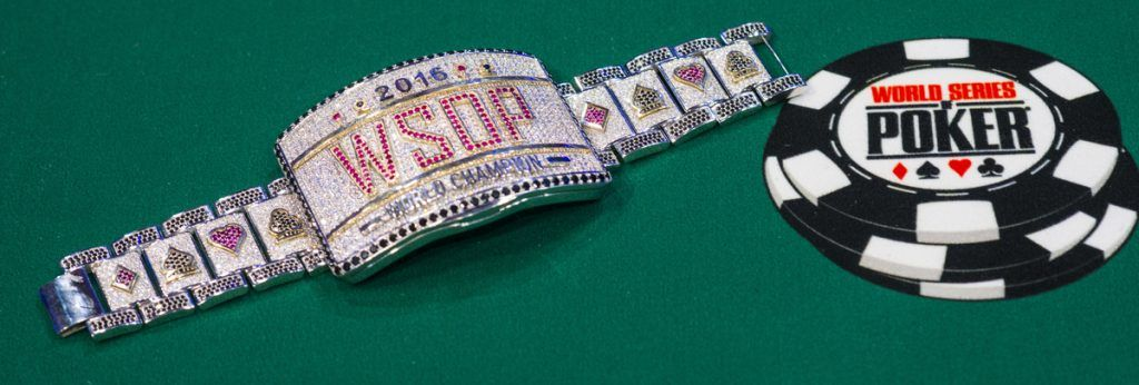 Main Event WSOP Bracelet 2016