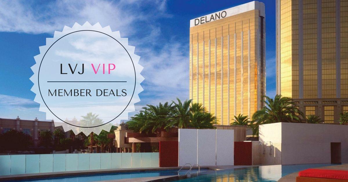 Delano 150 food beverage credit from 70 night for Delano promo code