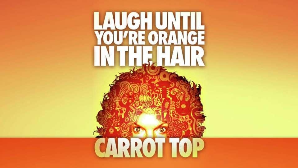Carrot Top Show Luxor Las Vegas Discount Ticket