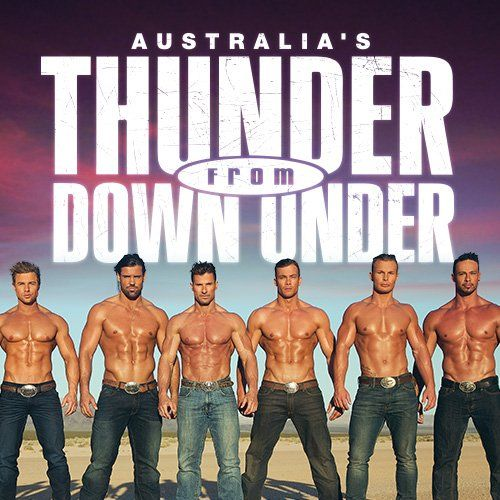 Thunder From Down Under Discount Tickets Promotions
