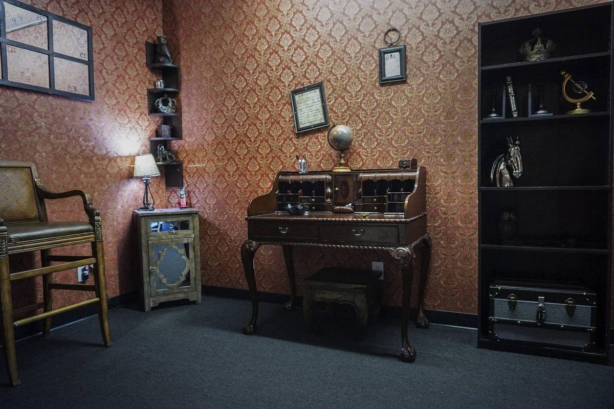 Sherlock Holmes themed escape room las vegas