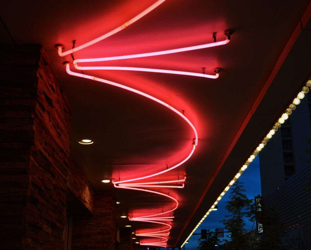 neon is classic, old vegas