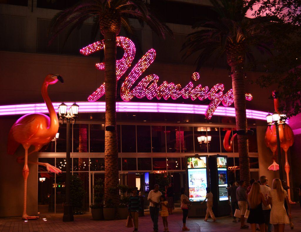 The Flamingo is the casino that started the Strip