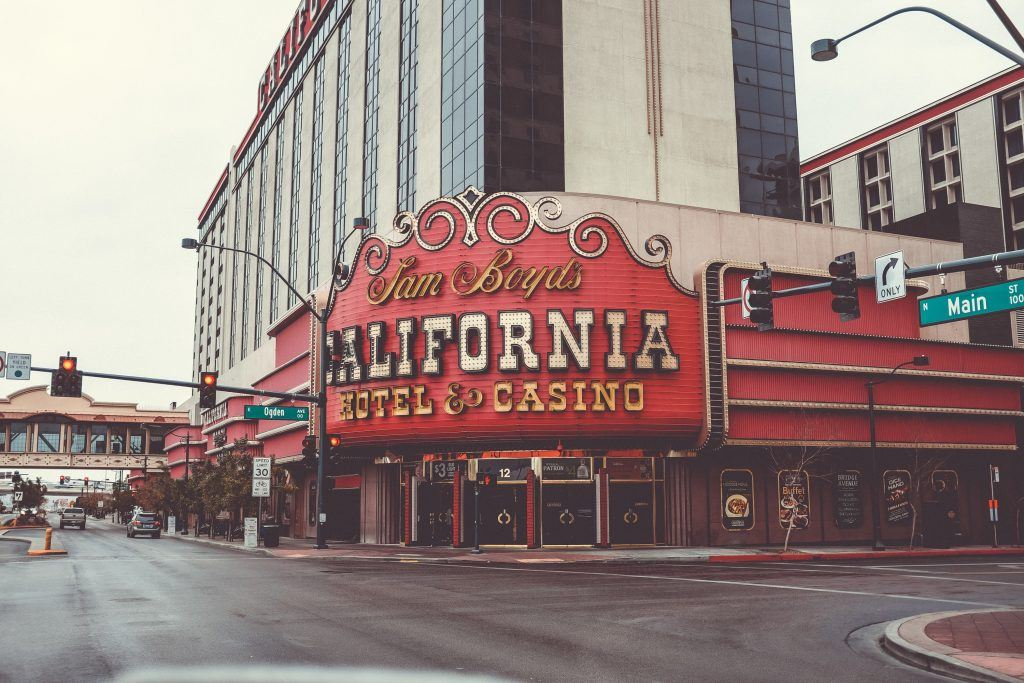 Old Vegas gaming and charm at the California