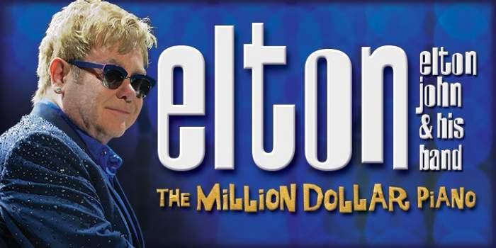 Elton John The Million Dollar Piano Las Vegas Discount Tickets