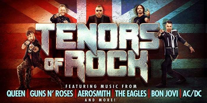 Tenors of Rock Planet Hollywood Las Vegas Tickets