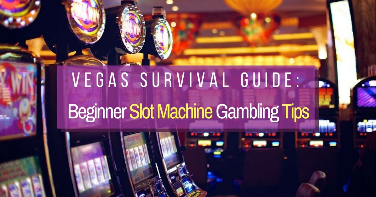 Slot machine gambling strategy