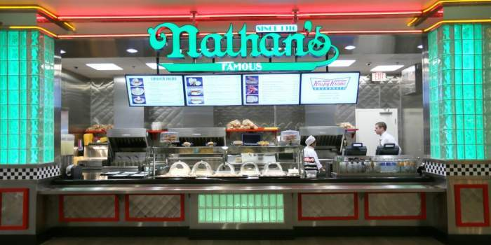 Bally's Las Vegas Nathan's Famous Hot Dogs