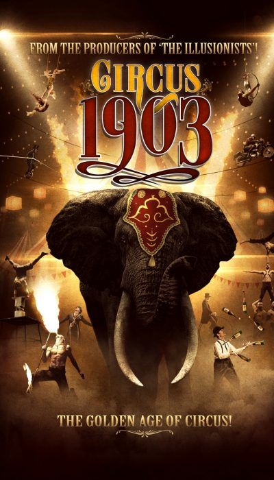 Circus 1903 Las Vegas Promo Tickets