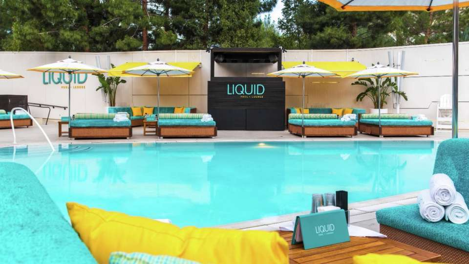 Liquid Day Club Aria Las Vegas