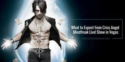Criss Angel Mindfreak Live! Show Luxor Las Vegas