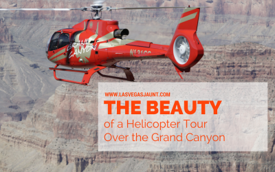 The beauty of a grand canyon helicopter tour