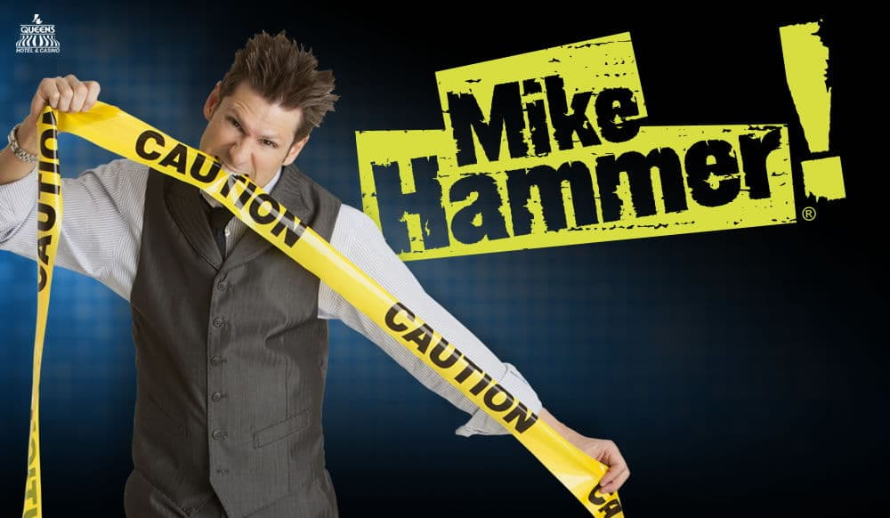Mike Hammer Comedy Magic Show Las Vegas Discount