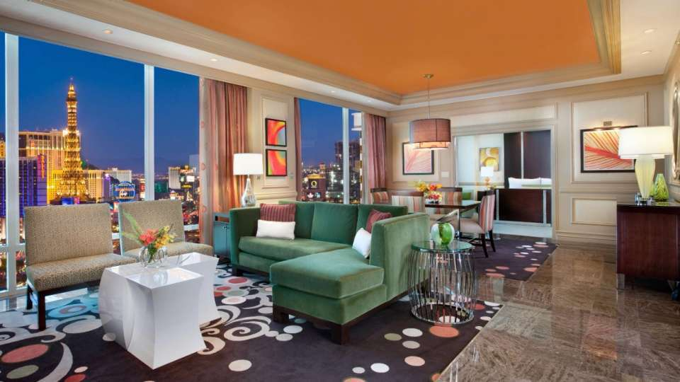 Mirage Las Vegas One Bedroom Penthouse Suite