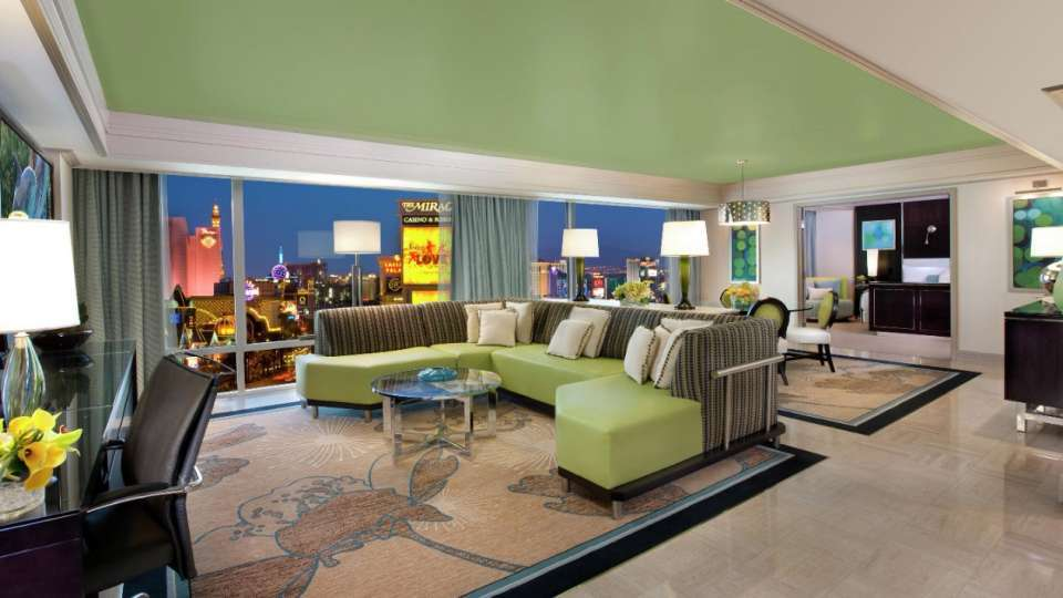 Mirage Las Vegas One Bedroom Tower Suite