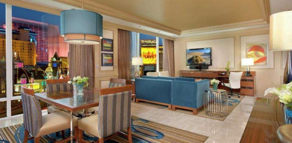 Mirage Las Vegas Two Bedroom Penthouse Suite