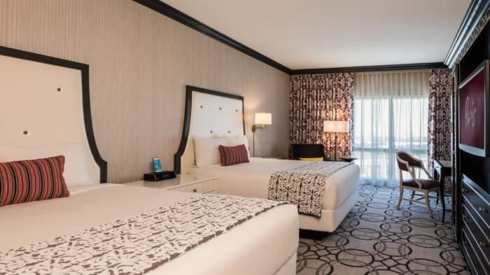 Paris Las Vegas Burgundy Room 2 Queen