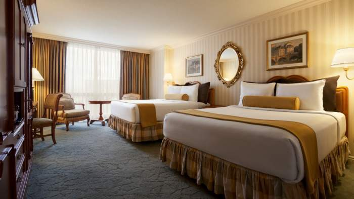 Paris Las Vegas Classic Room 2 Queen