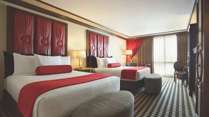 Paris Las Vegas Red Room 2 Queen