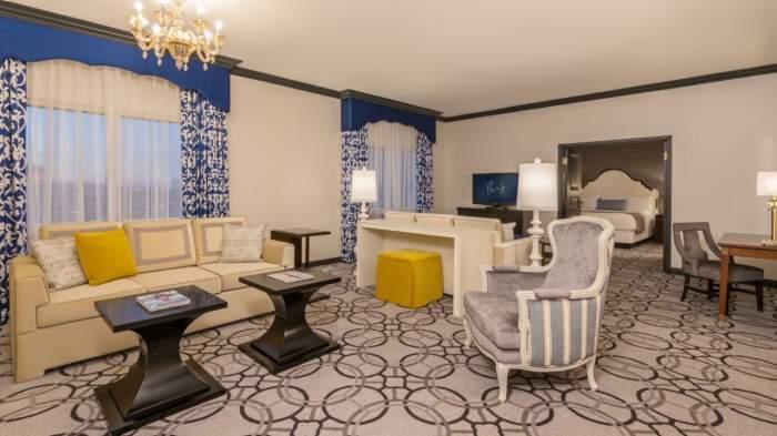 Paris Las Vegas St Tropez Suite
