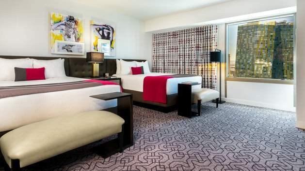 Planet Hollywood Las Vegas Ultra Hip Room 2 Queen