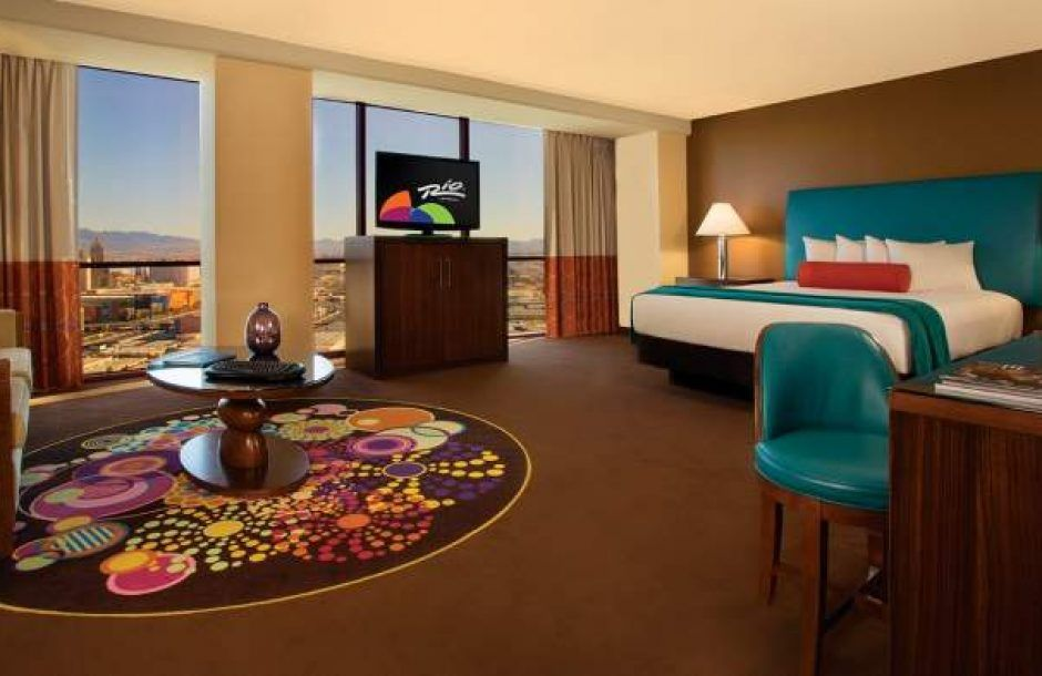 Rio Las Vegas Luxury Suite 1 King