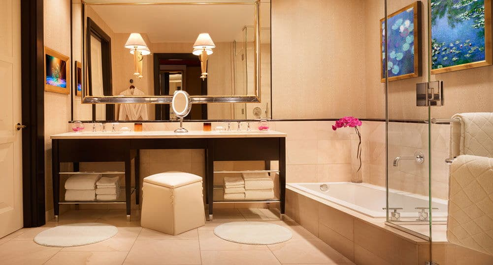 Encore Las Vegas Panoramic Suite Bathroom