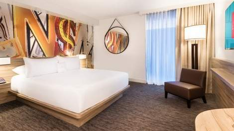 The Linq Las Vegas Deluxe King Room