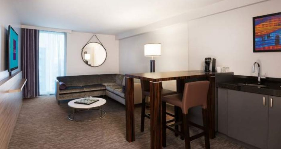 The Linq Las Vegas Deluxe Queen Suite