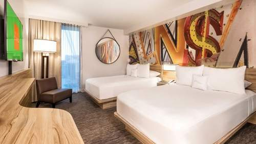 The Linq Las Vegas Deluxe Room 2 Double Beds