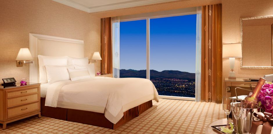Wynn Las Vegas Deluxe Panoramic Room