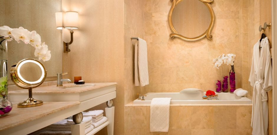 Wynn Las Vegas Executive Suite Bathroom