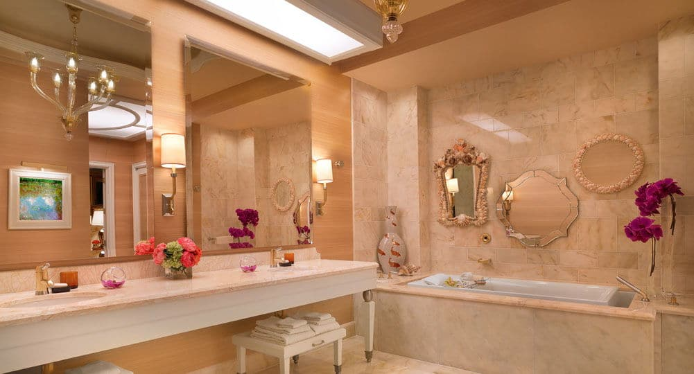 Wynn Las Vegas Fairway Villa Bathroom