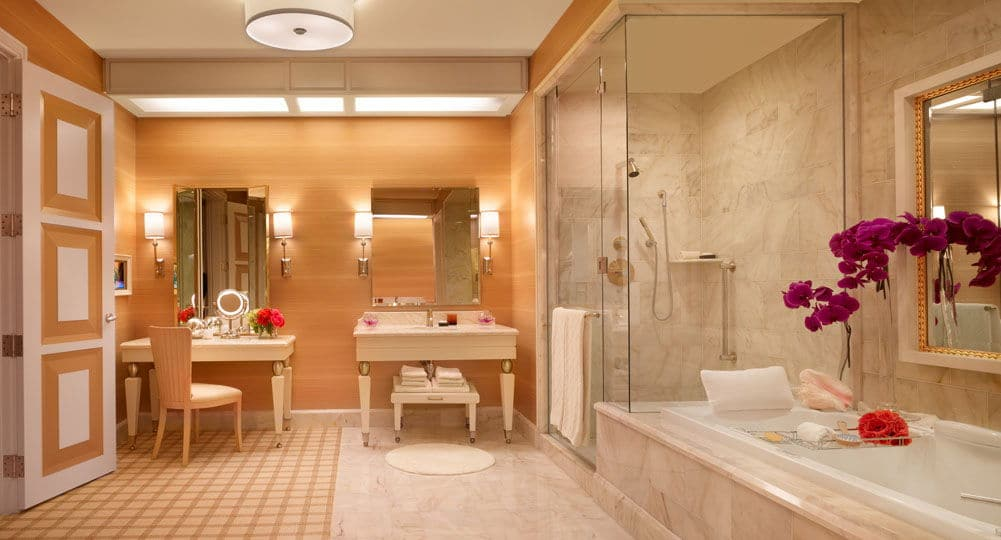 Wynn Las Vegas Parlor Suite Bathroom