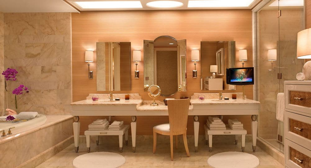 Wynn Las Vegas Salon Suite Bathroom