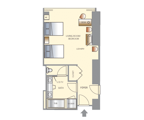 Wynn Las Vegas Tower Double Suite Floorplan