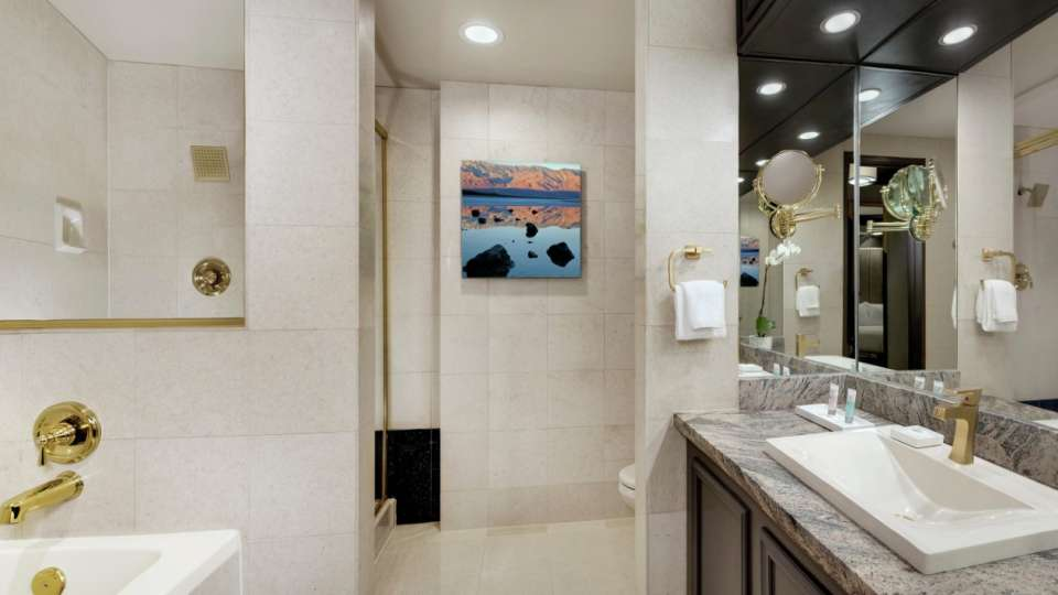 Luxor Las Vegas Tower Premium Room Bathroom