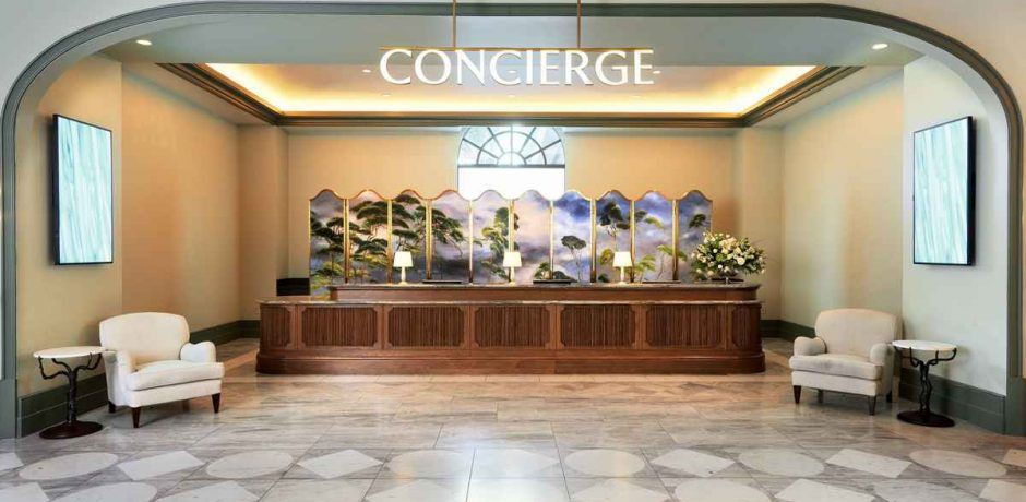 Park MGM Las Vegas Concierge Desk