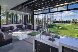 Top Golf Las Vegas Cabana