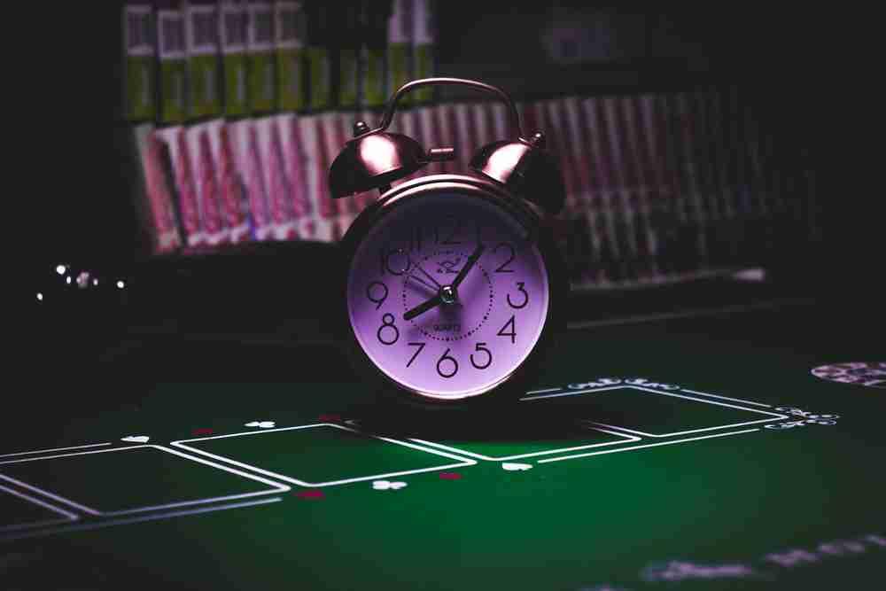 las vegas clock