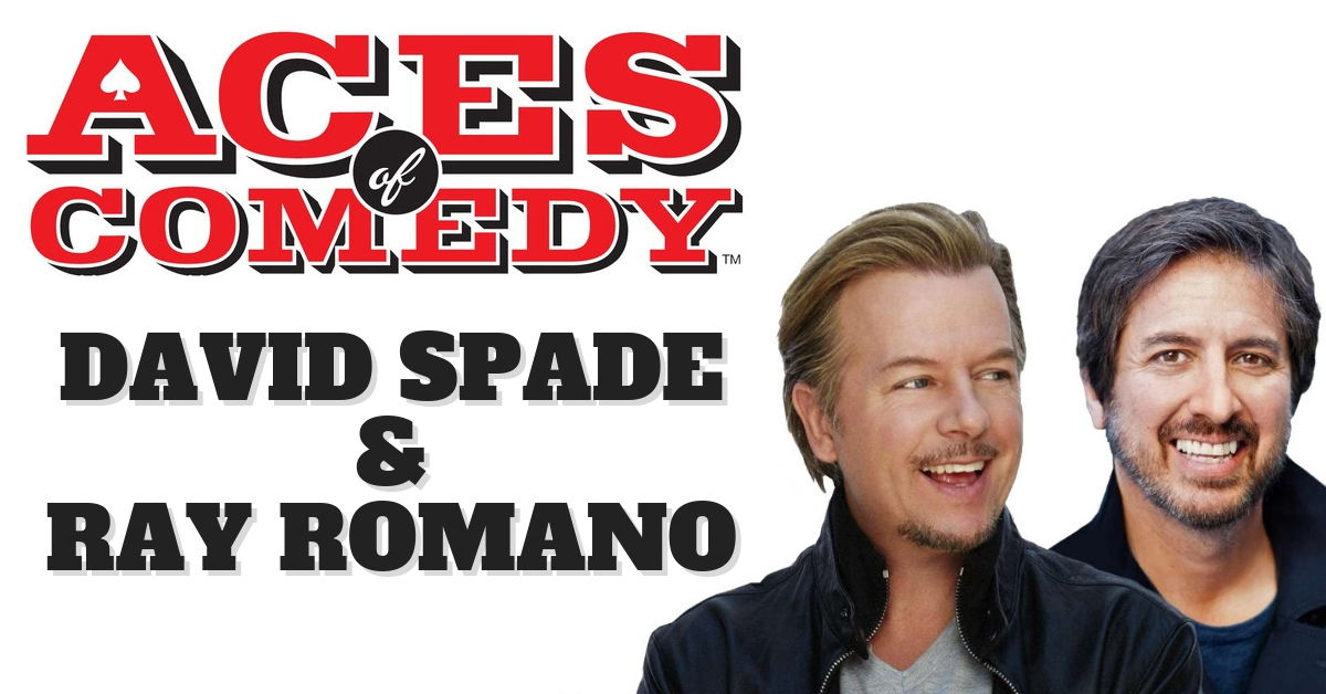 Aces of Comedy David Spade Ray Romano Show Las Vegas Tickets